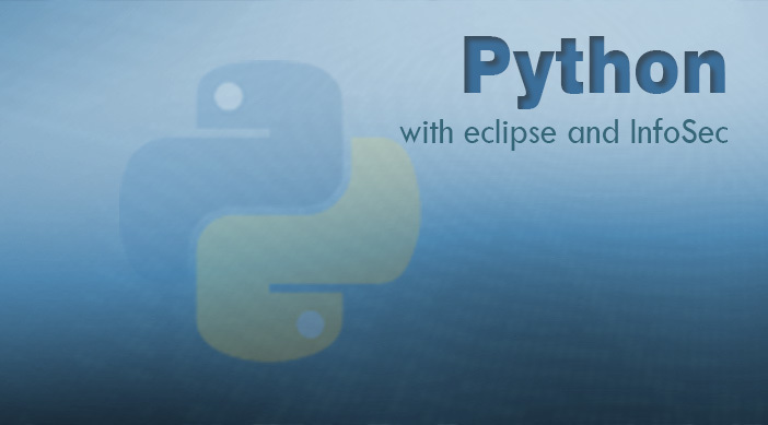 Python with eclipse and infosec light