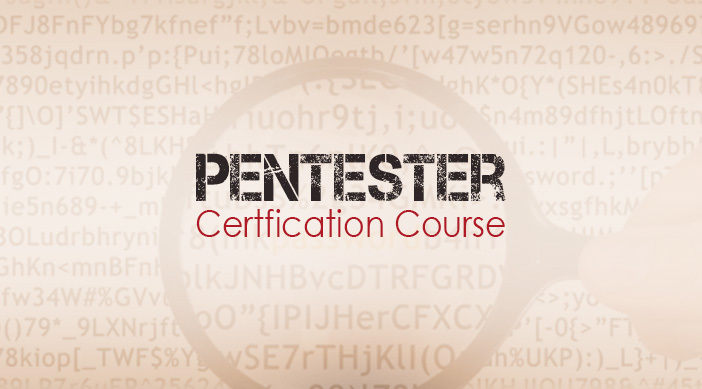 Pentester certfication course