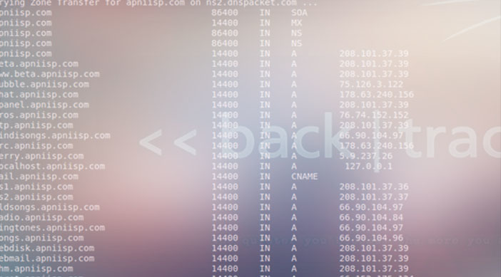 Pentesting with backtrack