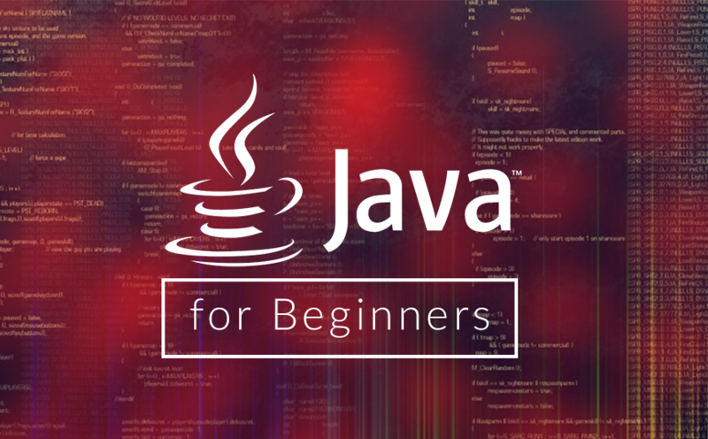 Java programme for beginners