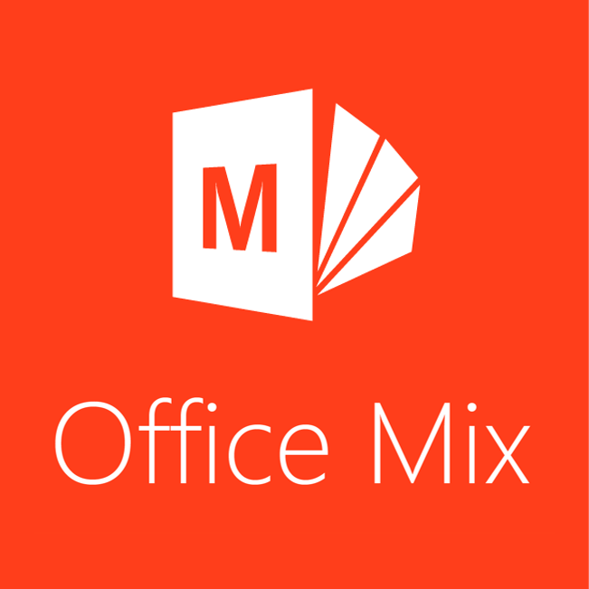 Office mix stacked logo