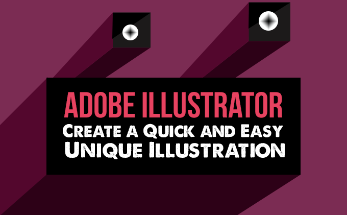 Adobe illustrator create a quick and easy unique illustration